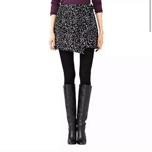 Kate Spade Saturday Galaxy Mini Wrap Buckle Skirt